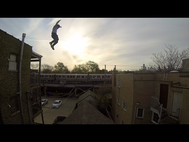 INSANE GoPro Roof Jump