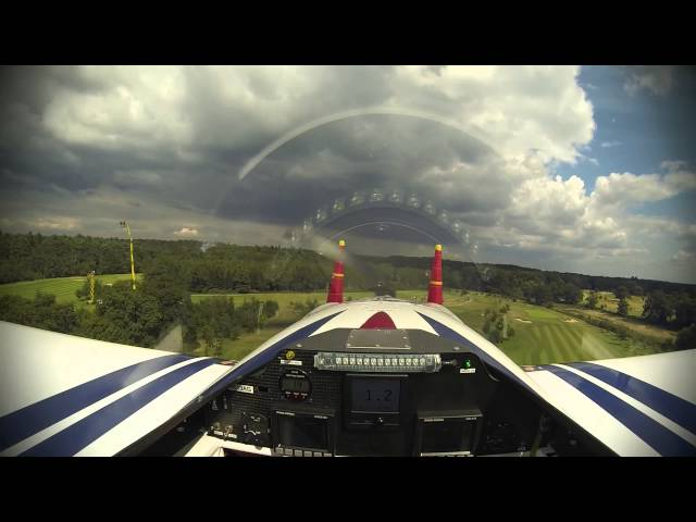 Red Bull Air Race Ascot - Martin Šonka, Pilot View