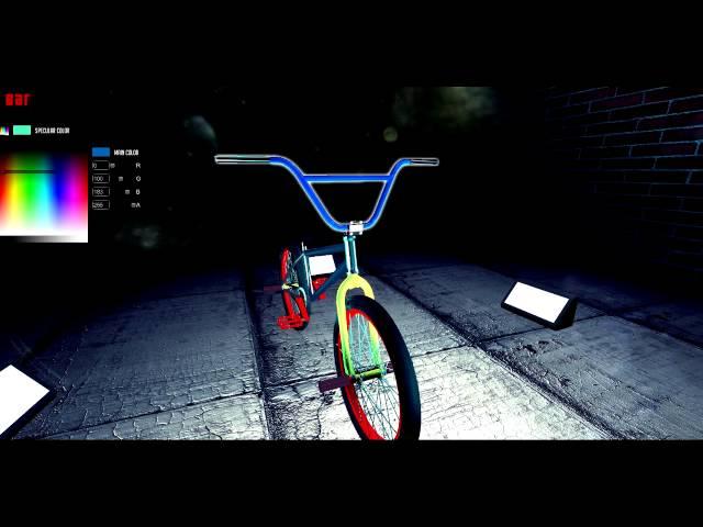 BMX Ride - Bike Editor 2014
