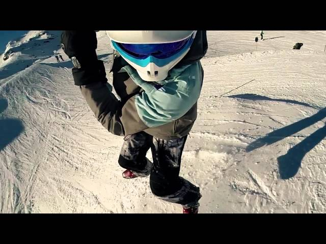 Fun in Kaprun with SledDogs Snowskates