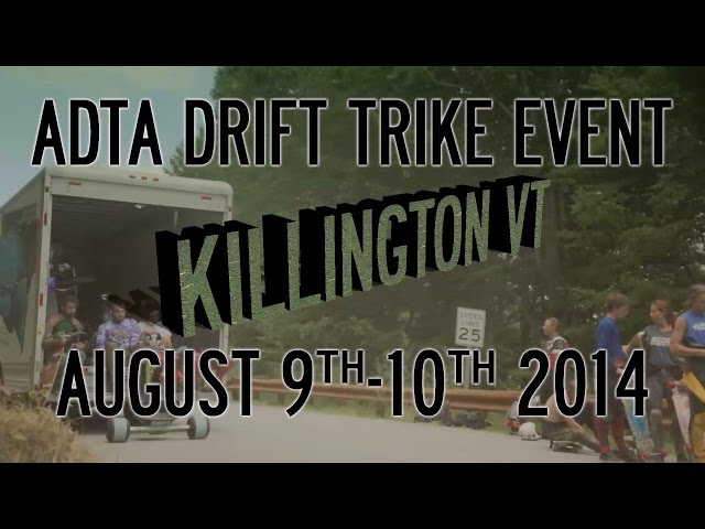 ADTA Drift Trike Event - Killington Vermont August