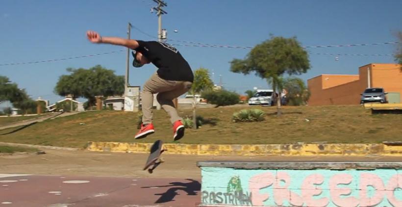 Nineclouds Skateboards   9 Tricks - Leonardo Antun