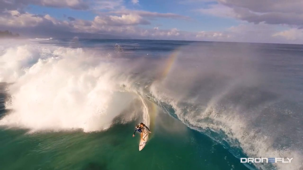 Surfing from Above - Volcom Pipe Pro