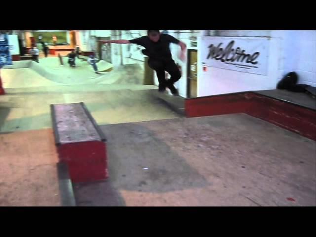Crazy Fakie 720 bigflip manual combo by Joe Moore