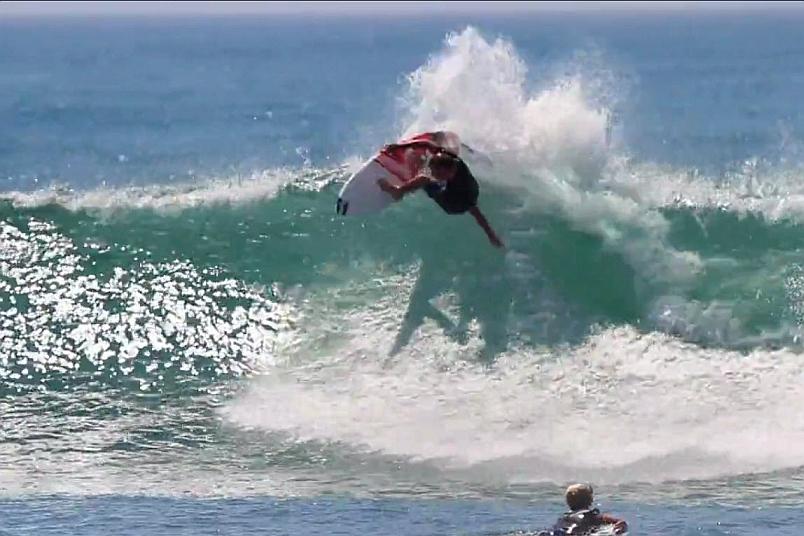 Taj Burrow Hurley Pro 2014 Free Surf