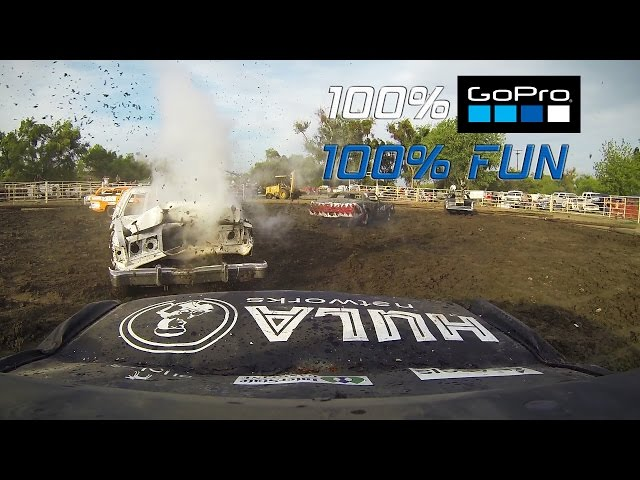 Firebaugh Demolition Derby 100% GoPro 100% Fun