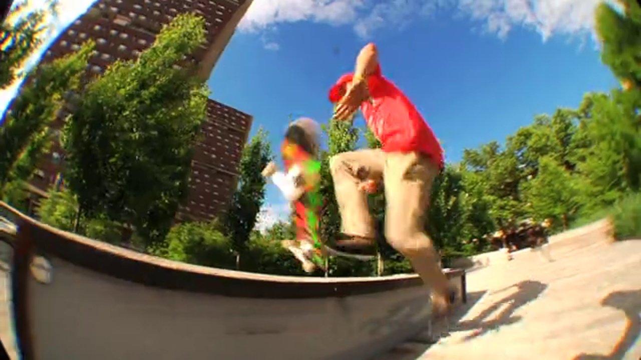 Scott Stevens 2014 Skate Part
