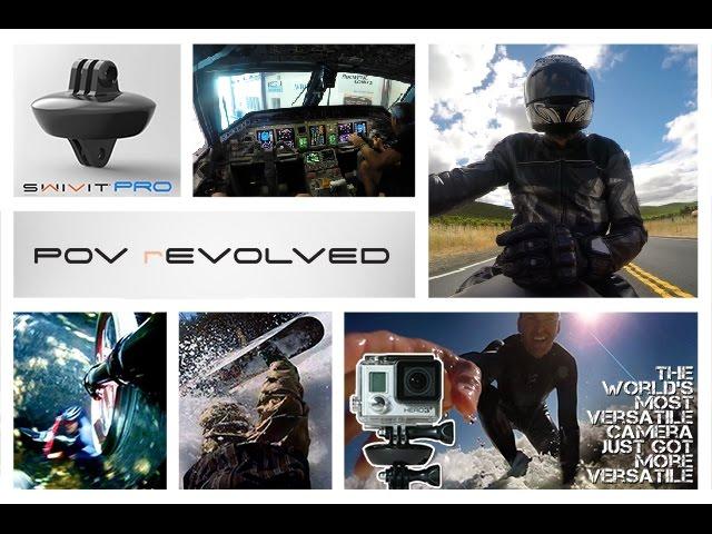 SWIVIT PRO 360 Degree Rotating GoPro Mount Promo
