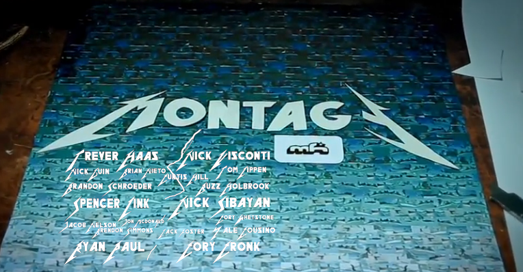"""MONTAGE"" a Mountain High Snowboarding Film."