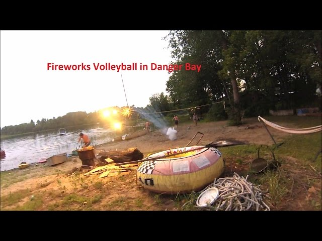Fireworks Volleyball in Danger Bay