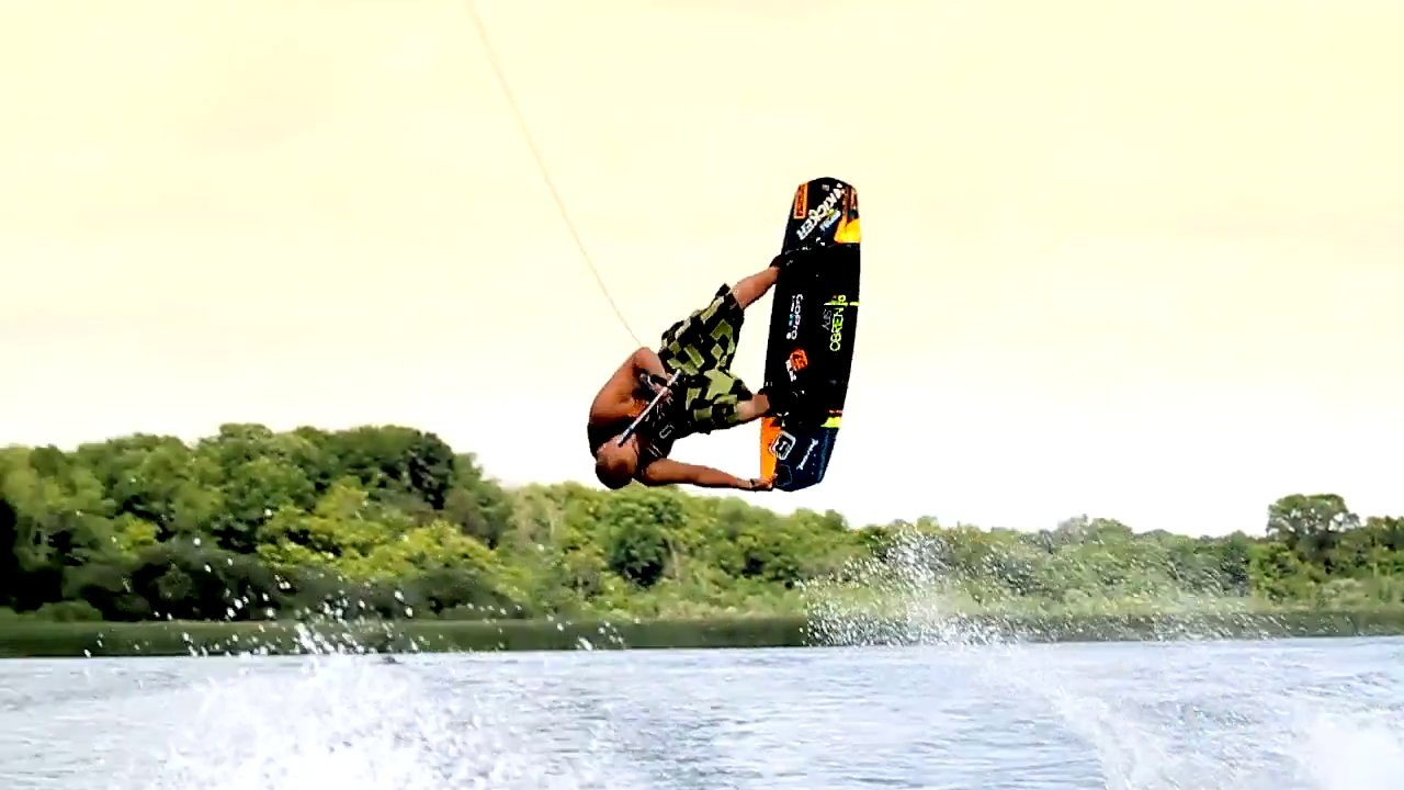 Early Season Wakeboarding 2014 | Corbin Blanton