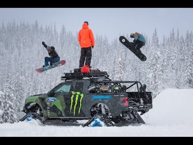 KEN BLOCK'S RAPTORTRAX SHREDFEST