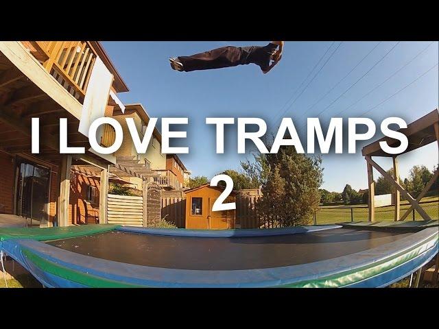 I Love Tramps 2 : 2013 Trampoline Teaser : Devin S