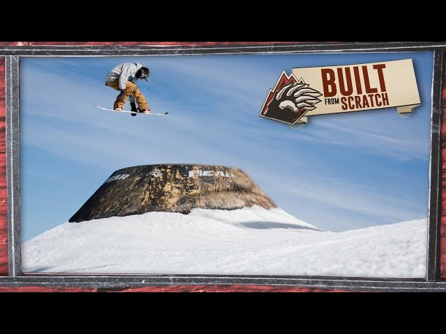 Bear Mountains Built from Scratch