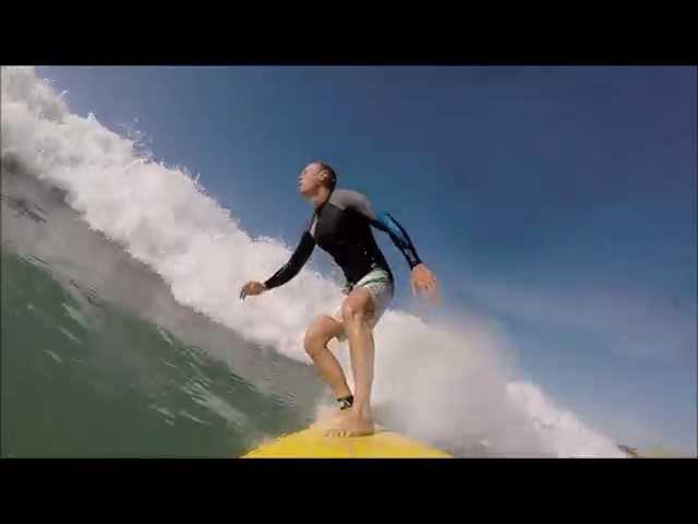 Surfing in Spain - October 2014