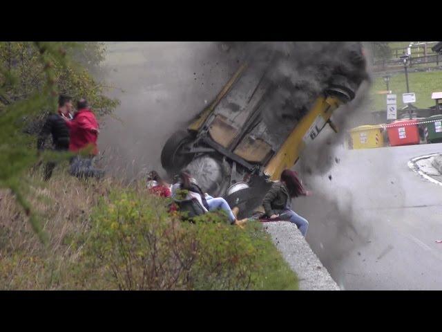 Jolly Rally Valle d'Aosta 2014 - Big crash