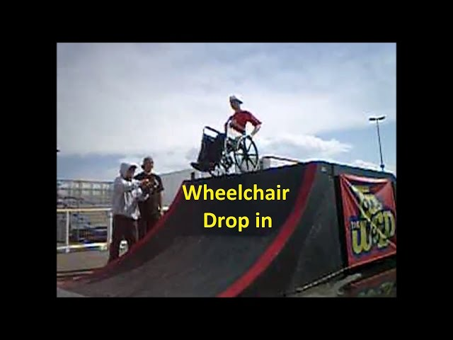 Wheelchair Drop In Back in 03