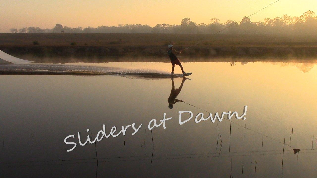 Sliders at dawn