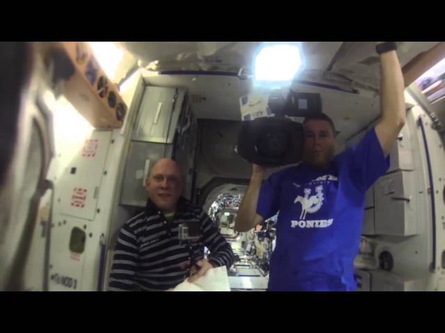Astronauts Put GoPro Into Floating Ball Of Water