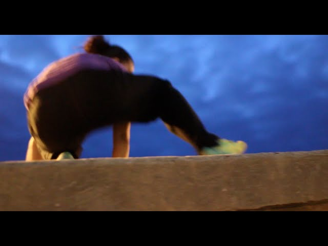 Girl parkour Training 3 months