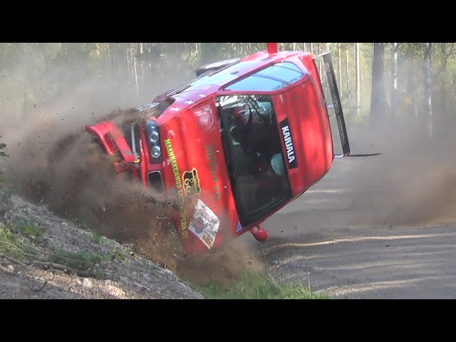 Finnish rally crashes 2014