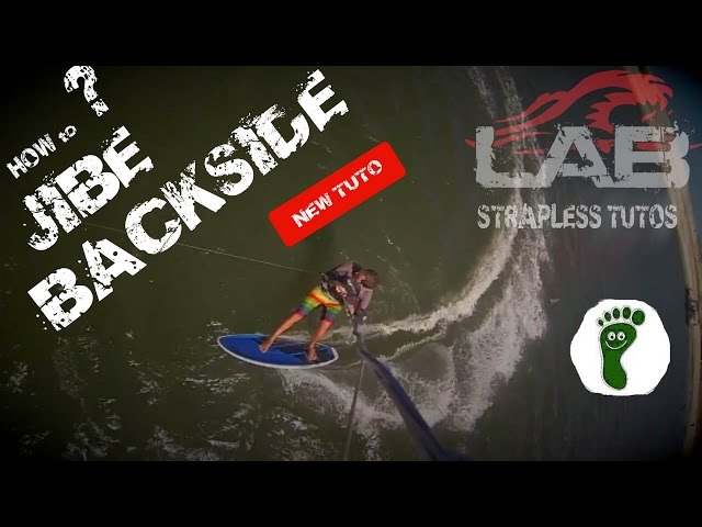 How to Jibe Backside