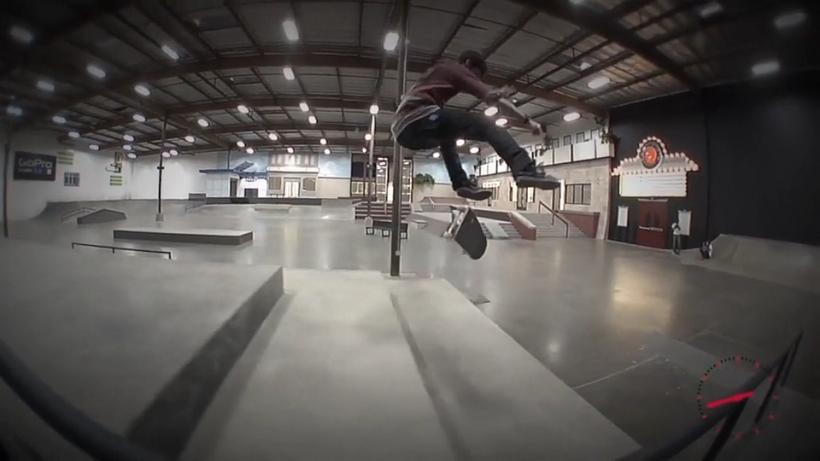 Chris Cole Insane Line At The New Berrics