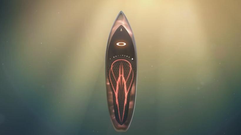Oakley Invents Shapeshifting Surfboard