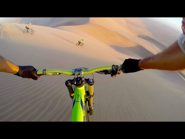 Epic Downhill Biking in Namibia