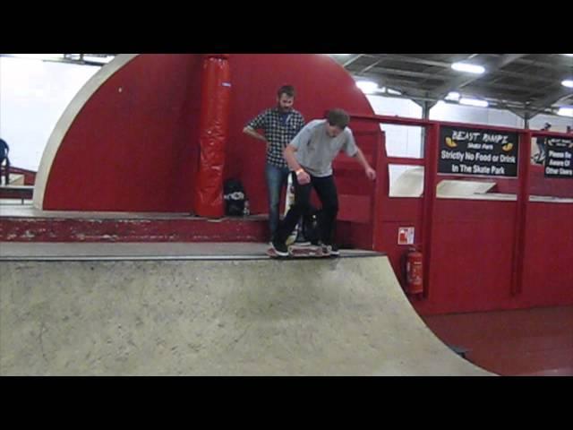 Manual Dark Slide Mini Ramp combo by Joe Moore