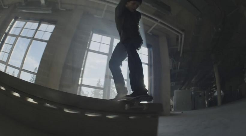 Red Bull Turns Abandoned Hotel Into Skate Paradise