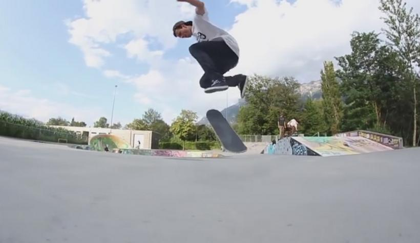 All Four - Bs 180 Double Flip