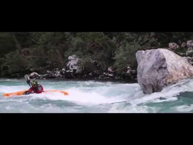 Extreme Kayaking (Katarakt, Soca river)