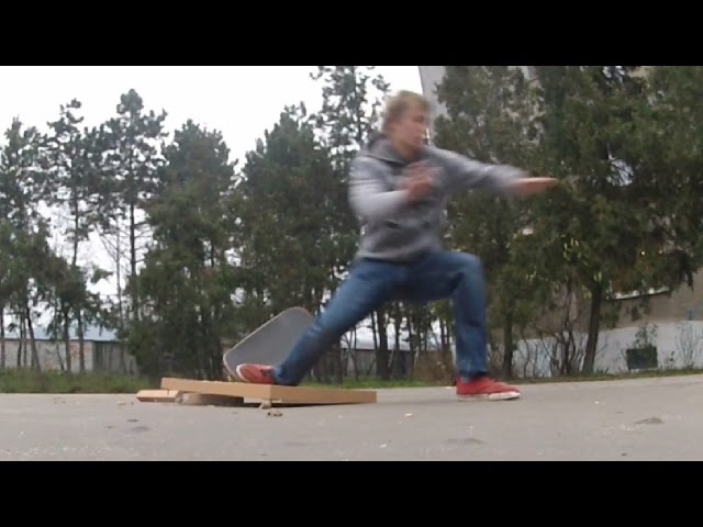 SKATEBOARD FAIL (DESTROYED IN SECONDS)