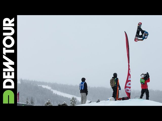 Seb Toots Dew Tour Slopestyle Final Run