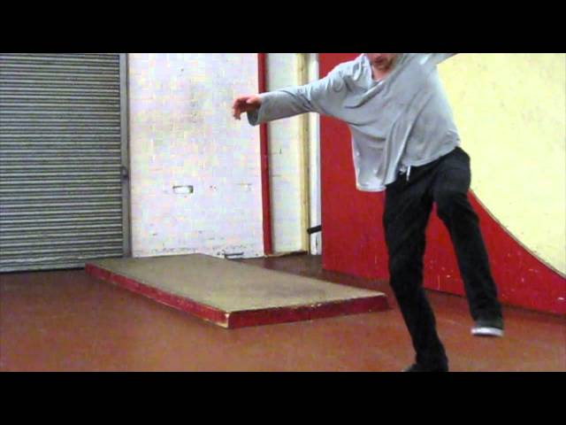 1 footed 360 Shove It manual combo by Joe Moore