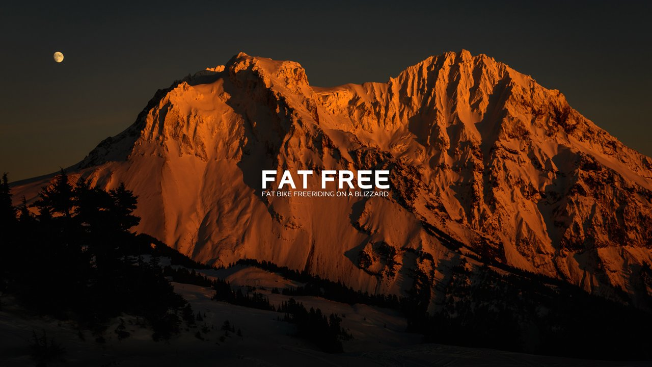 Fat Free: Fat Biking the Coastal Mountains
