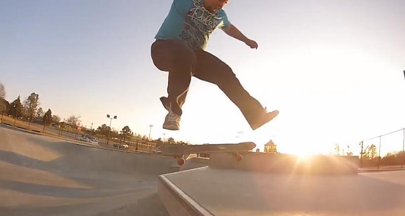 330lb Skater!