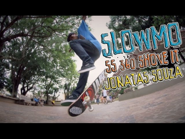 Slow Motion | Ss 360 pop shove it - Jonatas Souza