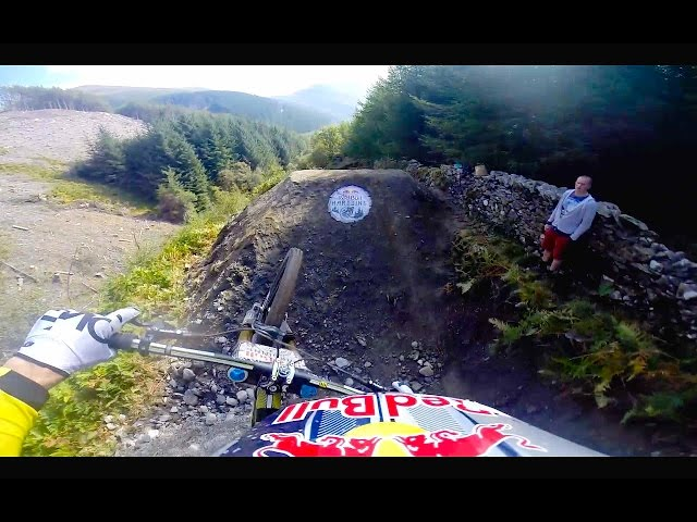 RedBull Hardline - Incredible