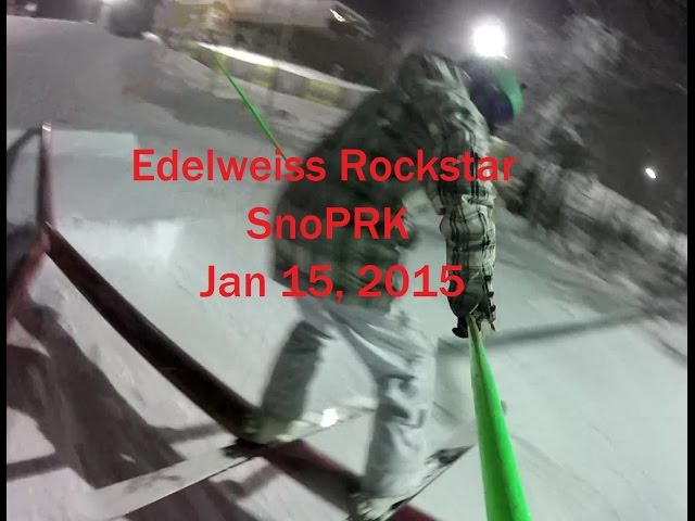 Edelweiss Park SnoPRK 2015 Run Through