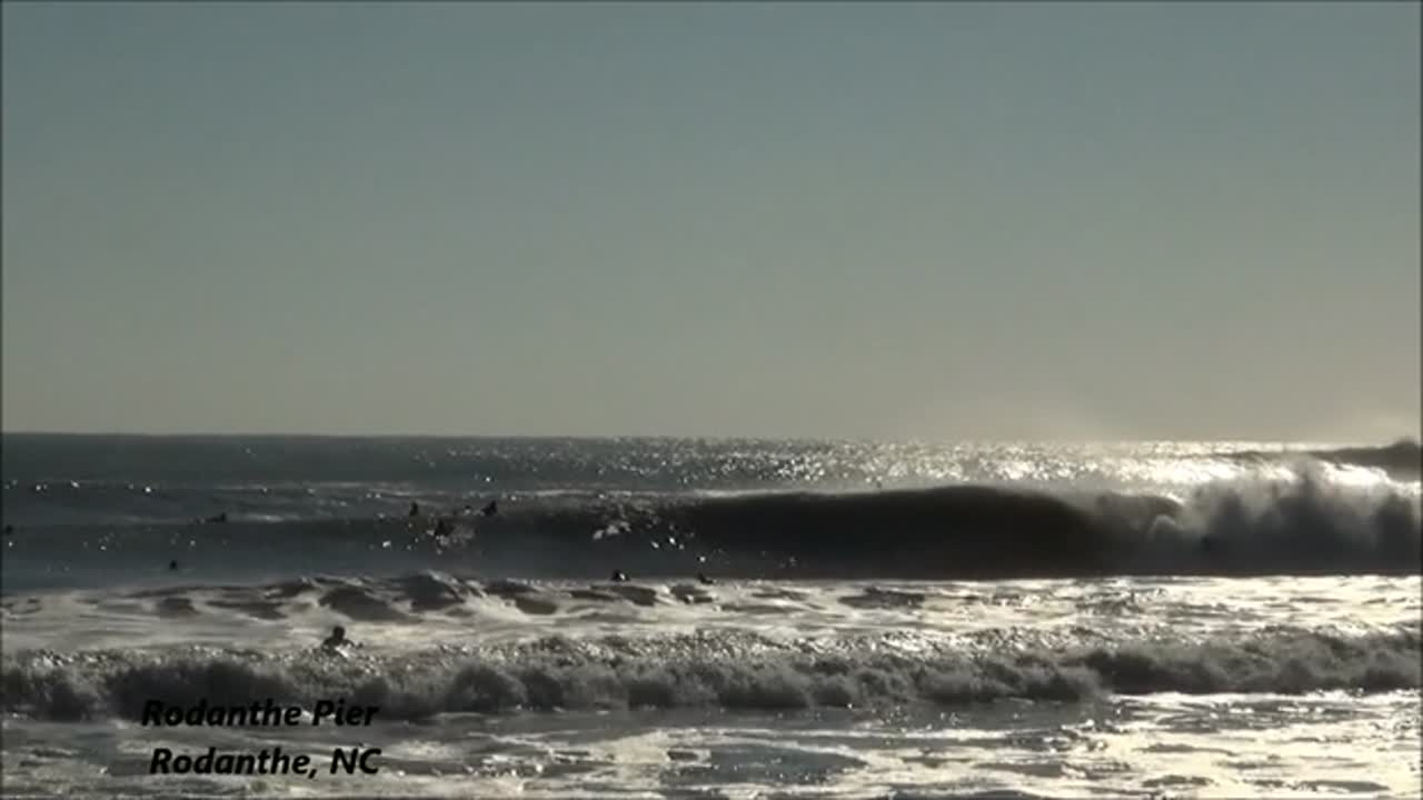 Hurricane Gonzalo Outer Banks: Wave of the Day