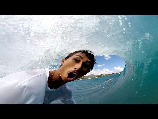 Mana Madeiros Wins 2014 GoPro HERO Award!