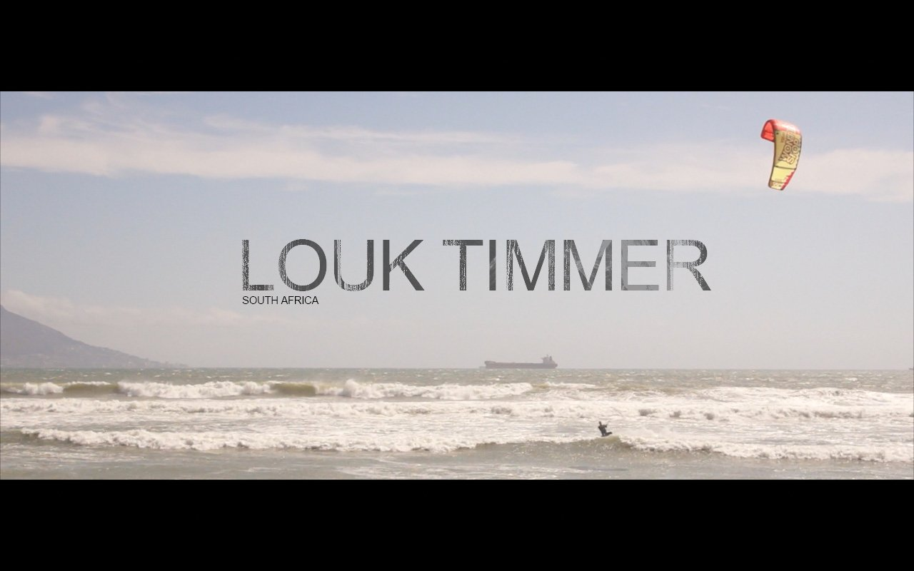 Louk Timmer Kiting In South Africa