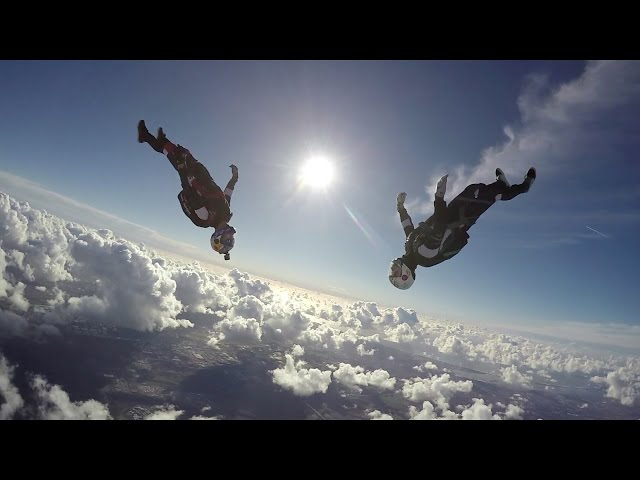 HERO 4 Skydiving in slow motion with Jokke Sommer