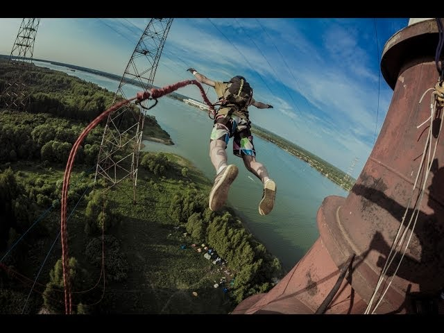 Electric tower rope swing | #wannafly with GoPro