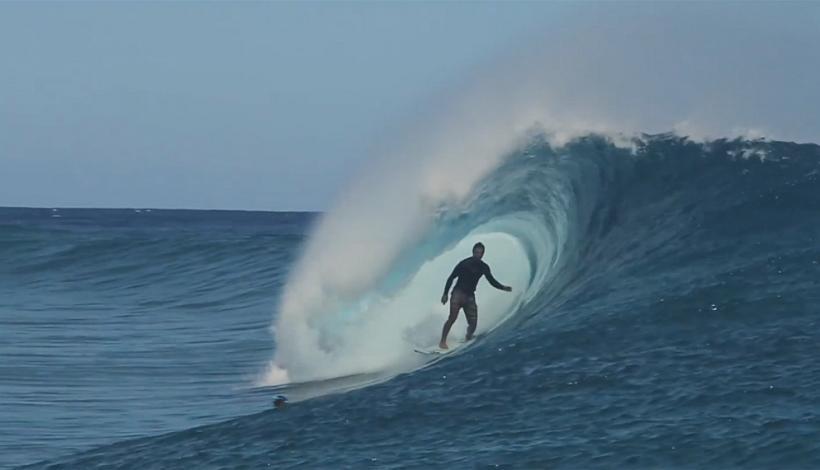 Ricardo Dos Santos in Tahiti