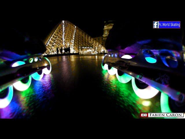 Speed Skating  Christmas Lights