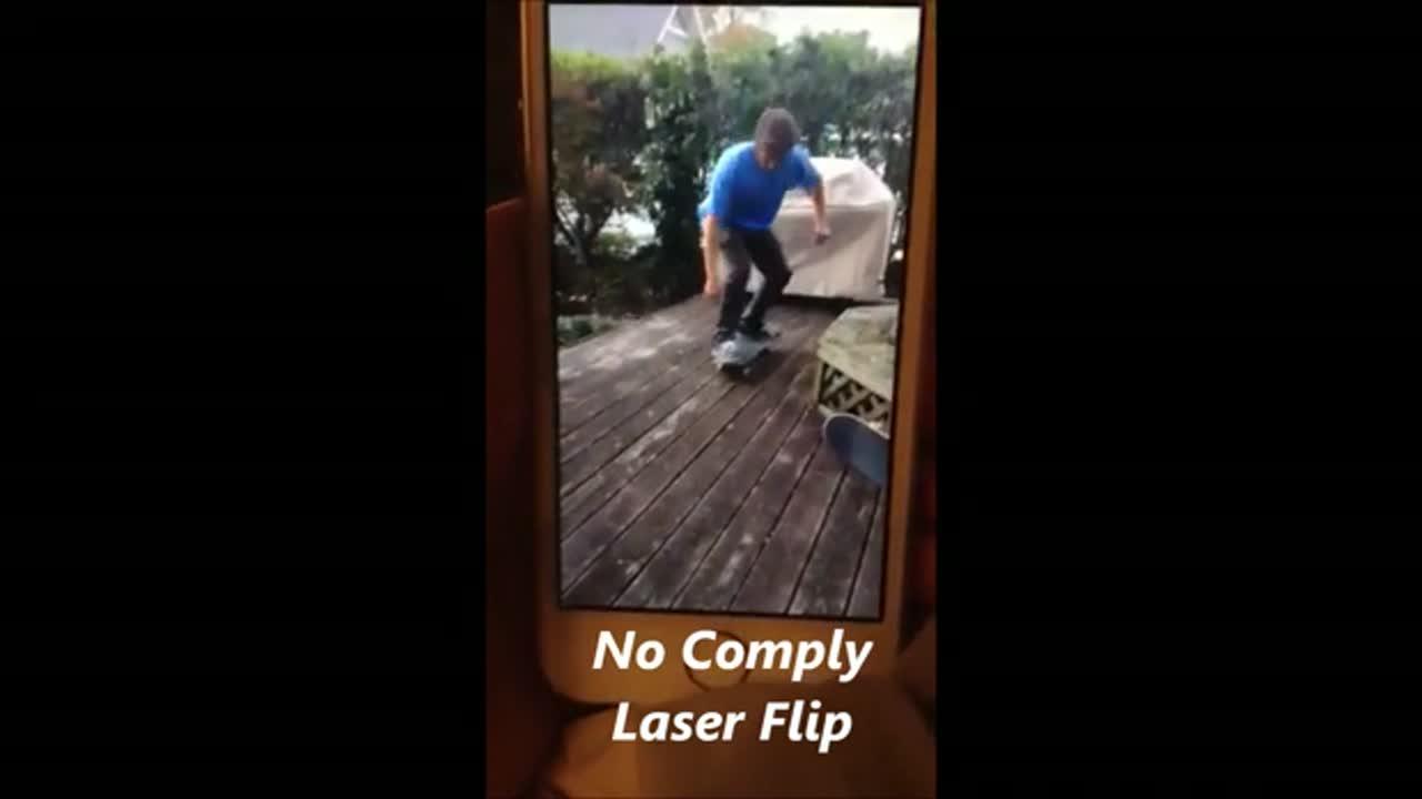 No Comply Laser Flip