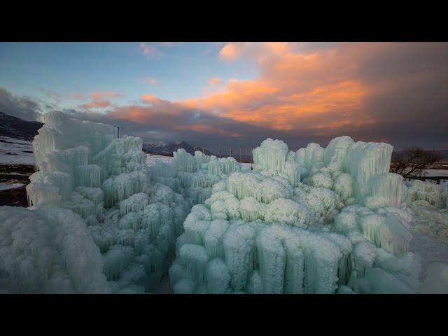 Ice Castle Timelapse